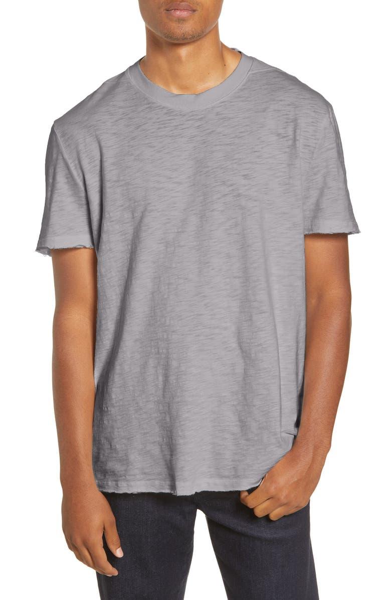 ALLSAINTS Mateo Cotton Crewneck T-Shirt, Main, color, FLINT GREY