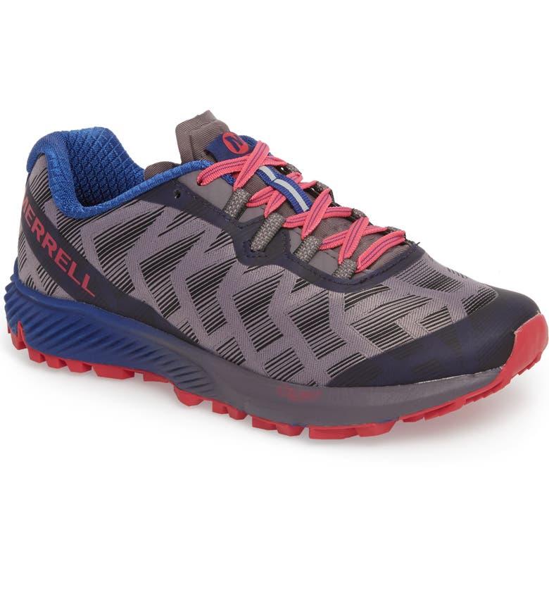 MERRELL Agility Synthesis Flex Sneaker, Main, color, SHARK FABRIC