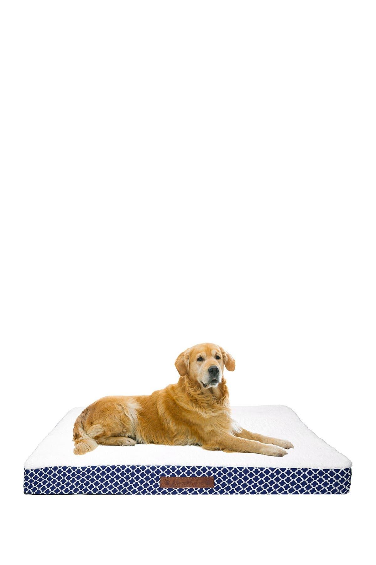 Image of Duck River Textile Cezebel Trellis Jumbo Orthopedic Memory Foam Pet Bed