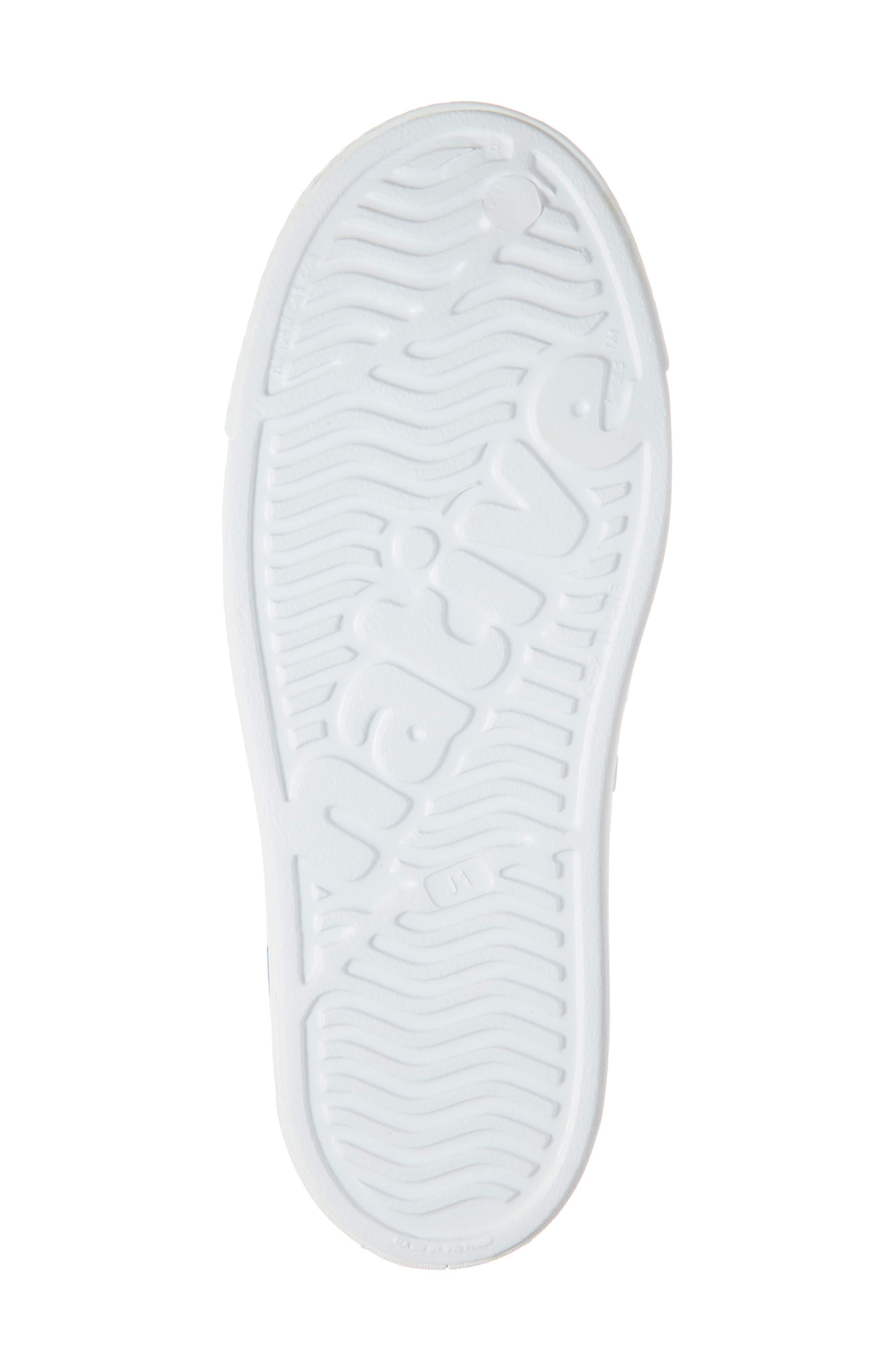 ,                             'Jefferson' Water Friendly Slip-On Sneaker,                             Alternate thumbnail 6, color,                             WHITE/ WHITE/ ULTRA GLOW BLOCK