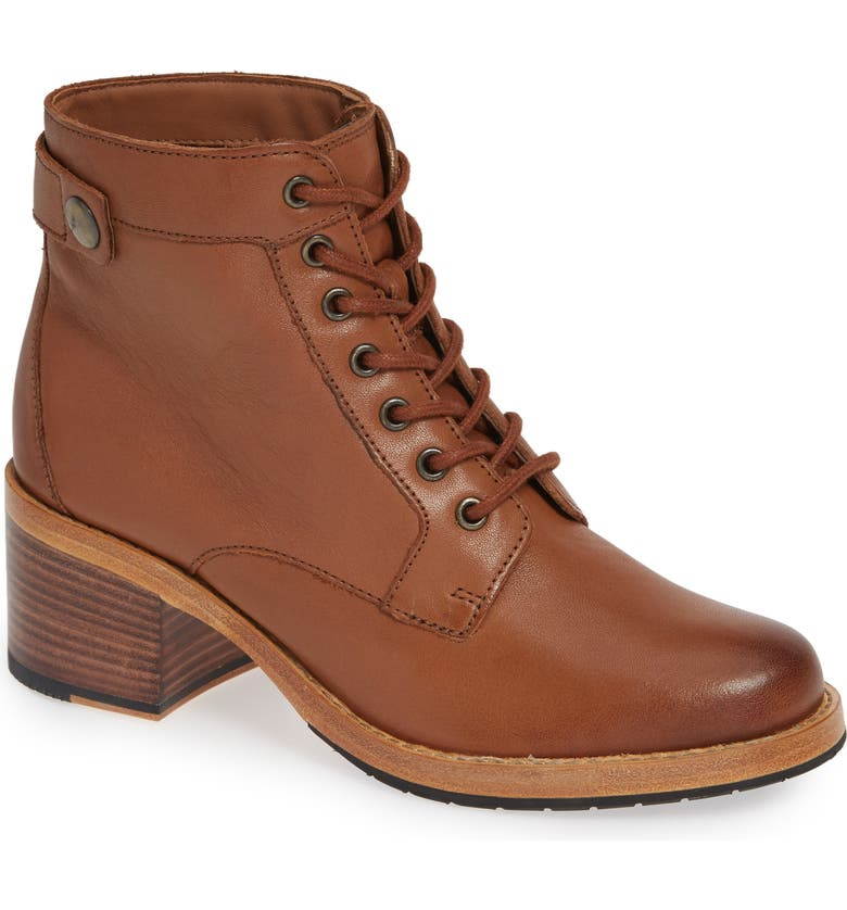 CLARKS<SUP>®</SUP> Clarkdale Tone Boot, Main, color, DARK TAN LEATHER