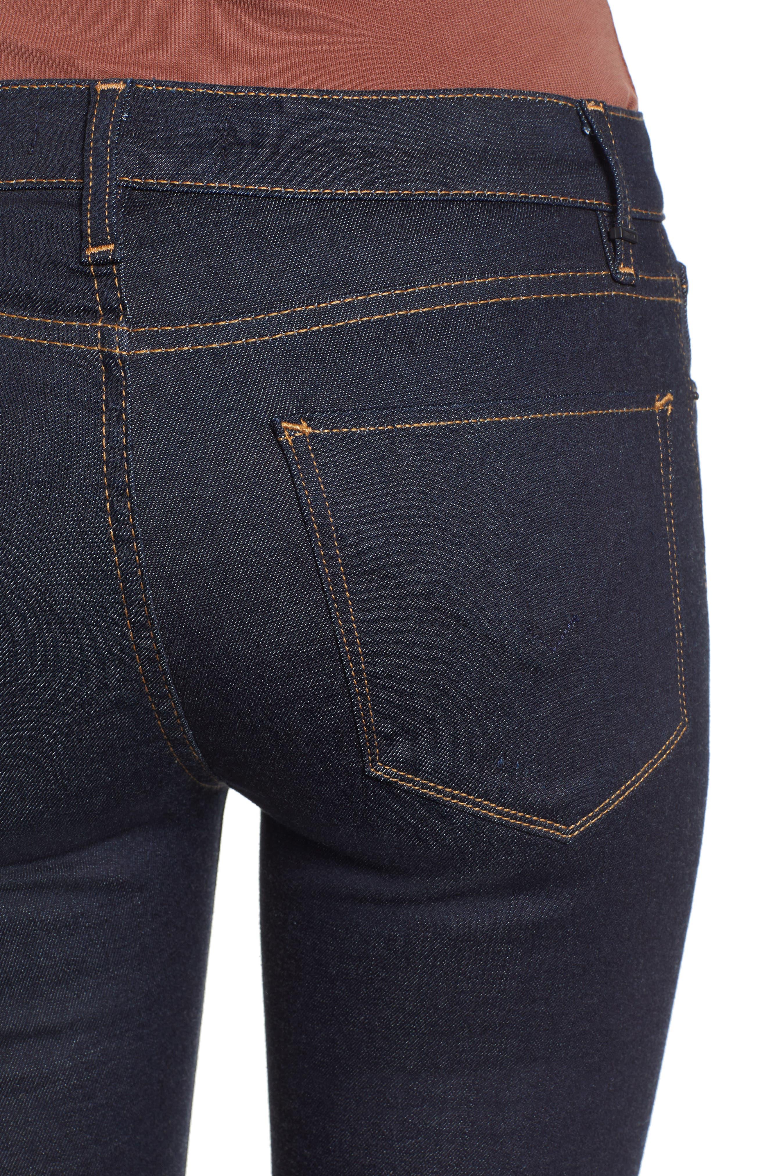 ,                             Stella Crop Straight Leg Jeans,                             Alternate thumbnail 5, color,                             402