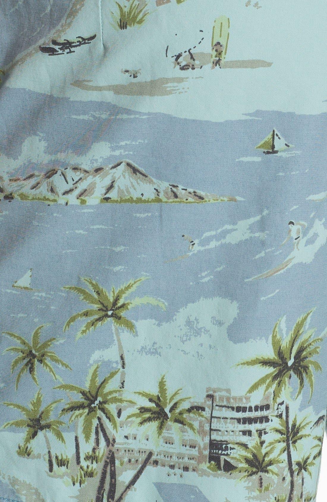 ,                             'Pelican' Print Board Shorts,                             Alternate thumbnail 5, color,                             425