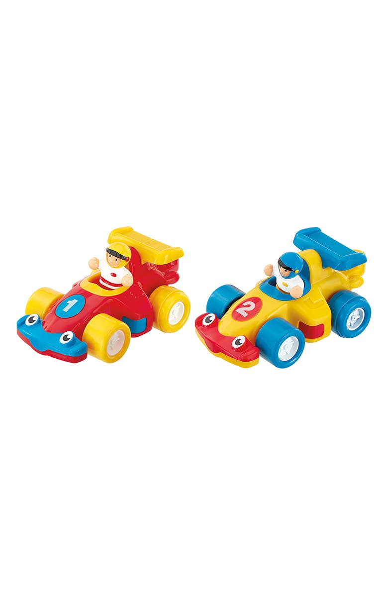 WOW TOYS The Turbo Twins, Main, color, YELLOW/ RED