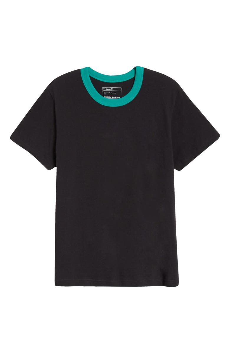 ENTIREWORLD Type A Version 7 Recycled Cotton T-Shirt, Main, color, BLACK GREEN