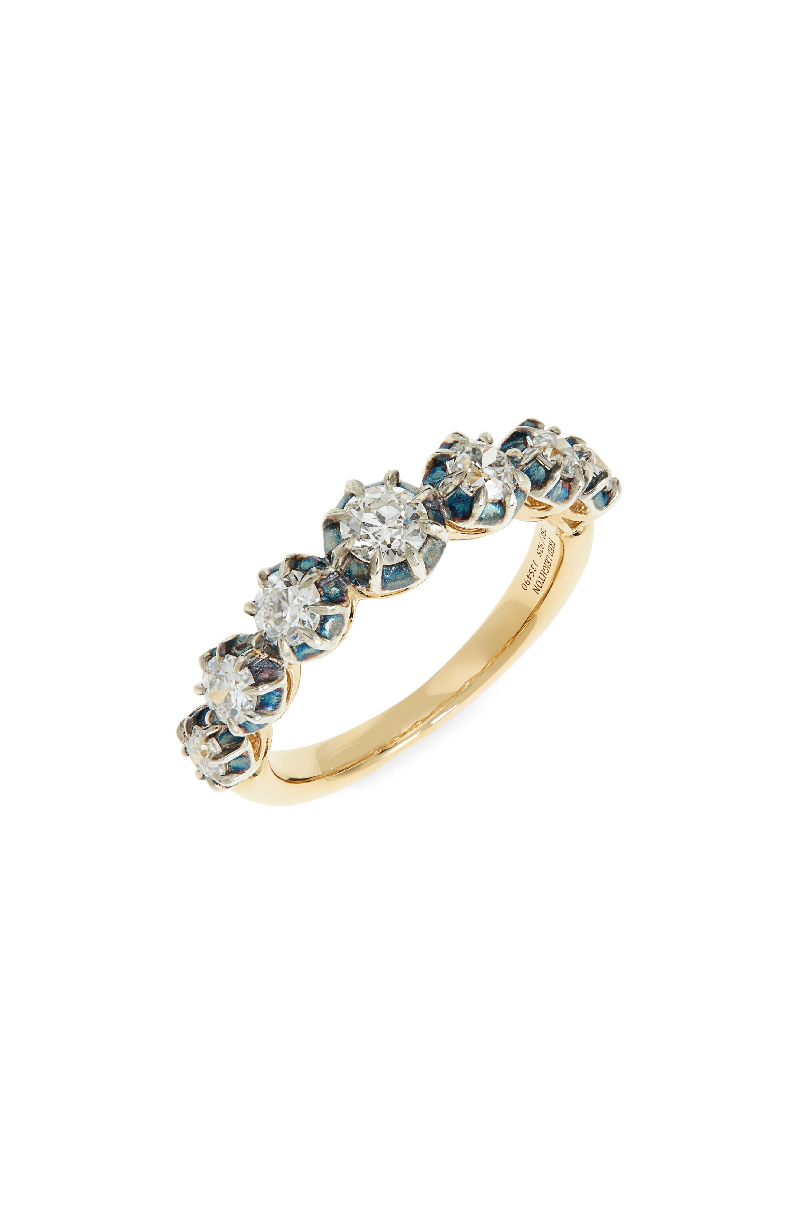 Collet Diamond Ring
