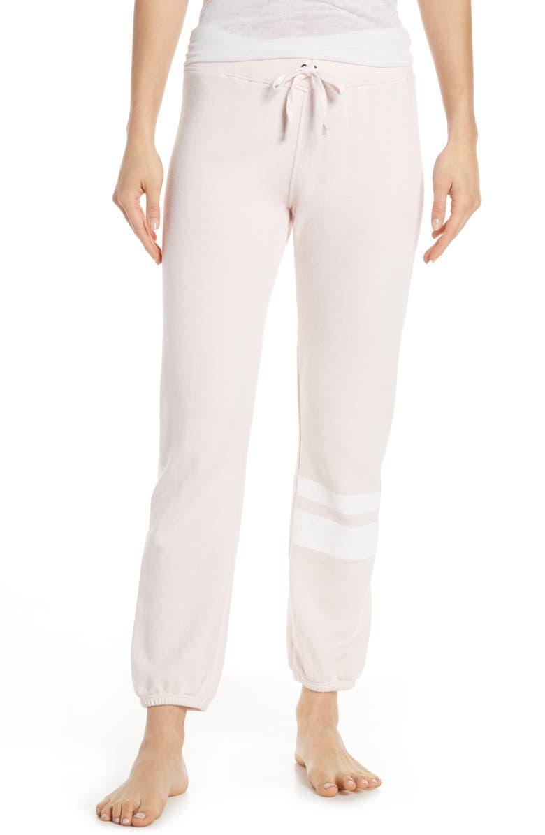 DAVID LERNER Stripe Jogger Pants, Main, color, 650
