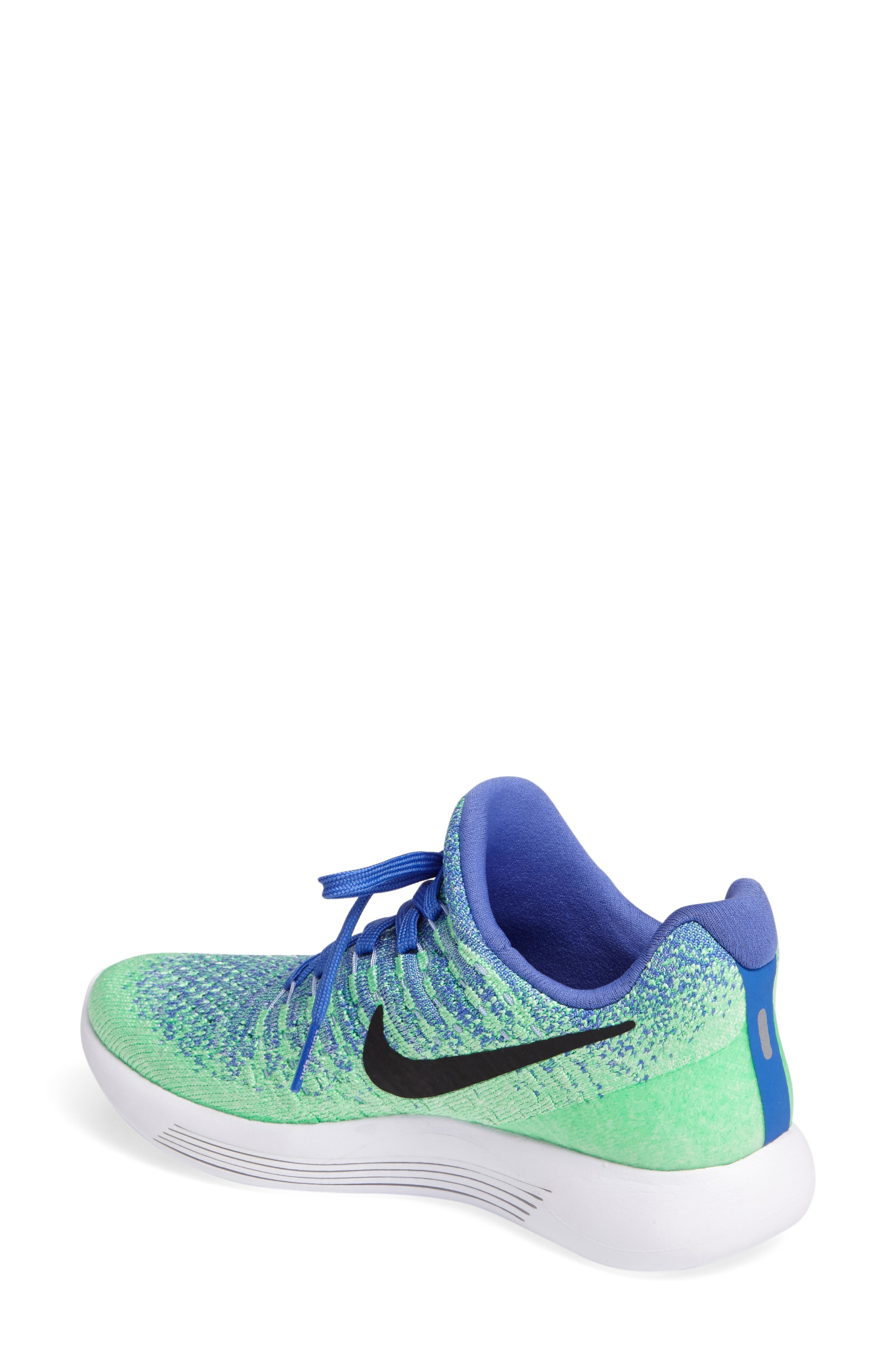 ,                             LunarEpic Low Flyknit 2 Running Shoe,                             Alternate thumbnail 66, color,                             401