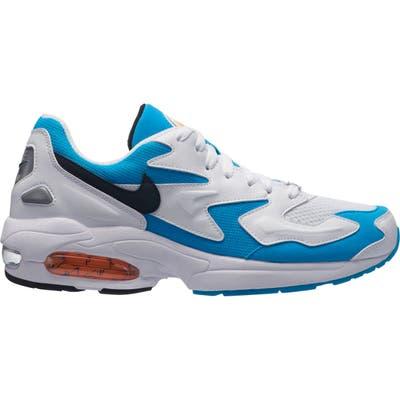 Nike Air Max2 Light Sneaker- White