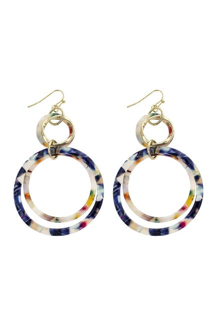 Image of Panacea Multi Circle Earrings