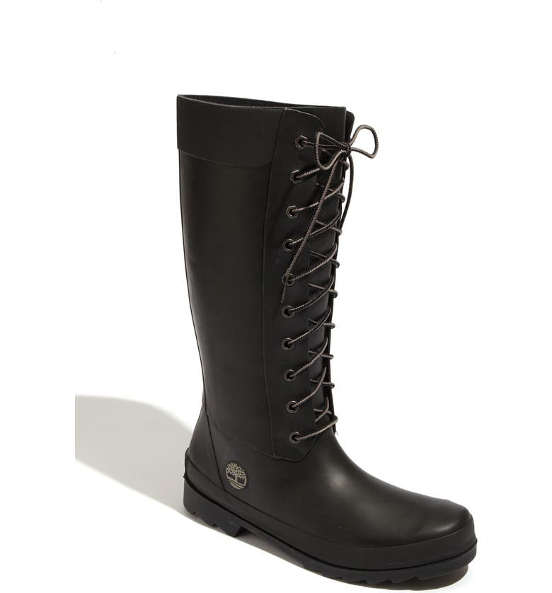 TIMBERLAND 'Welfleet' Rubber Boot, Main, color, 001