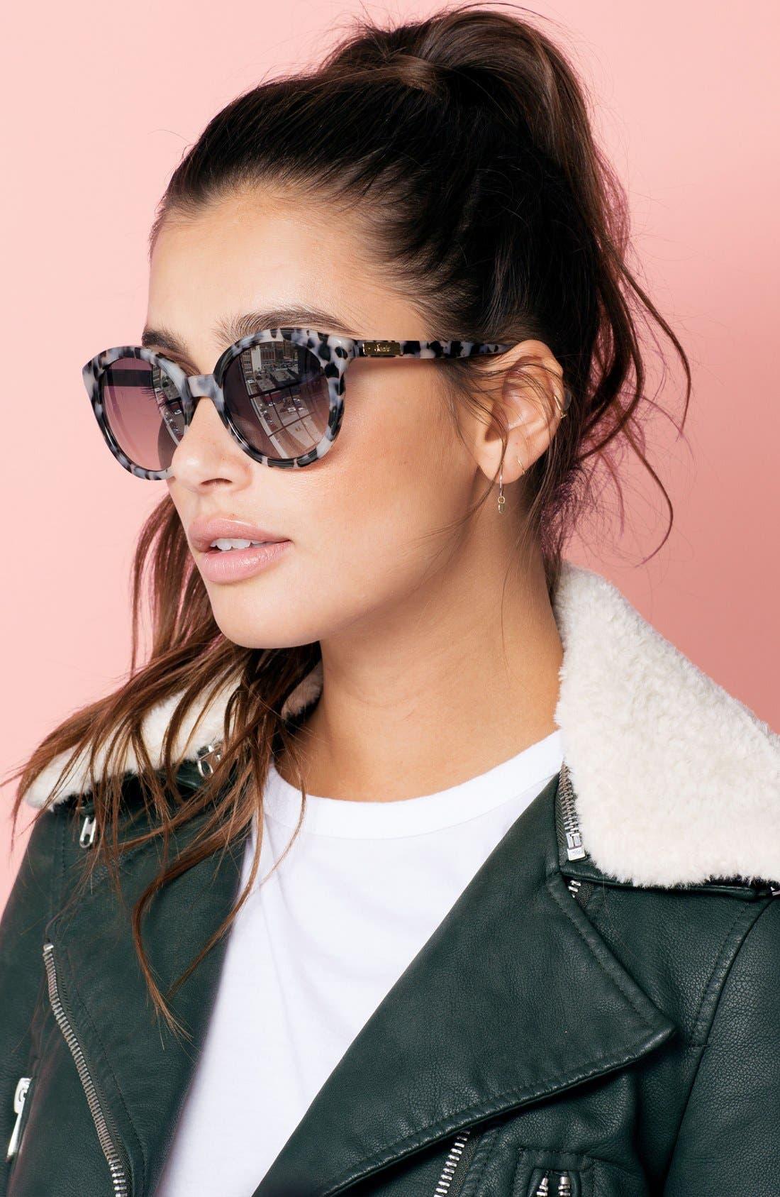,                             Holland 50mm Gradient Round Sunglasses,                             Alternate thumbnail 16, color,                             250