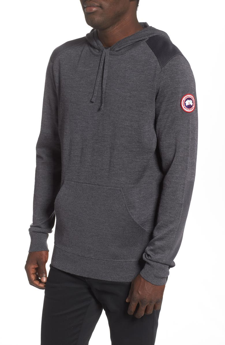 CANADA GOOSE Amherst Hoodie, Main, color, IRON GREY