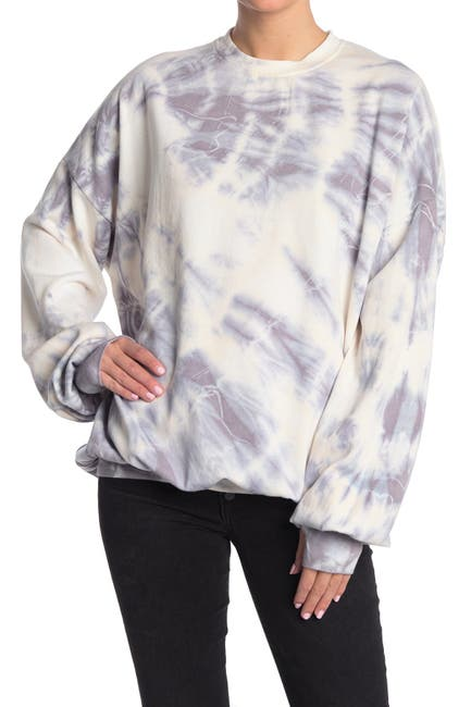 Image of The Laundry Room Social Distancing Jump Jumper Tie Dye Print Sleep Shirt