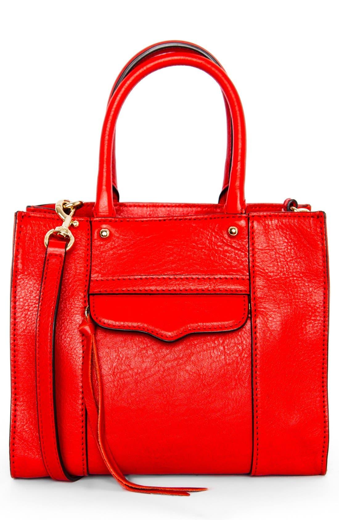 ,                             'Mini MAB Tote' Crossbody Bag,                             Main thumbnail 87, color,                             600