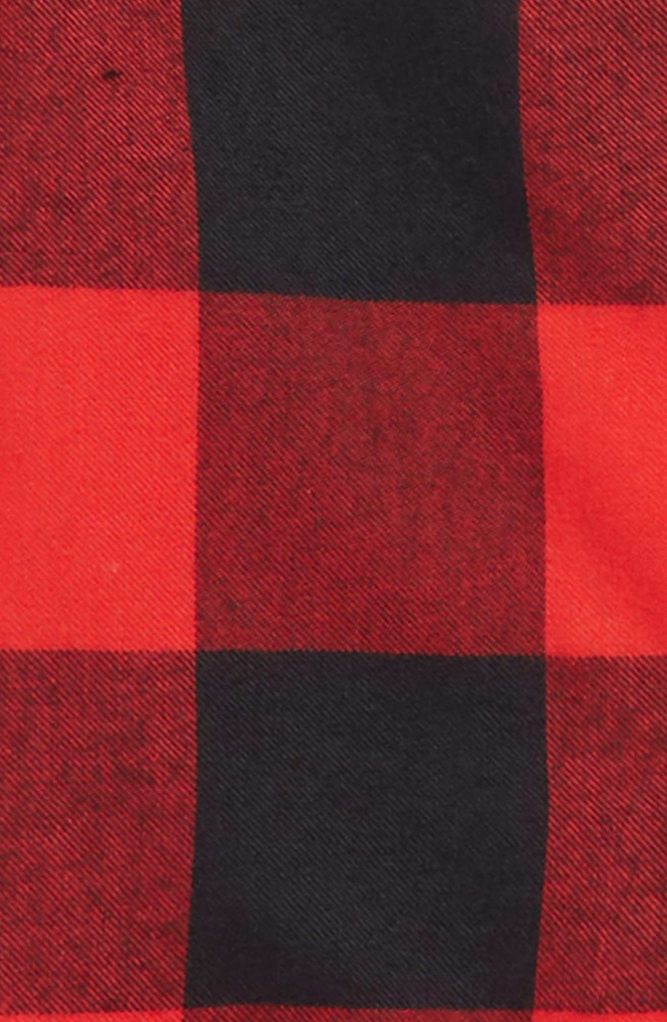 ,                             Flannel Pajamas,                             Alternate thumbnail 4, color,                             610