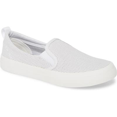 Sperry Crest Twin Gore Slip-On Sneaker- White