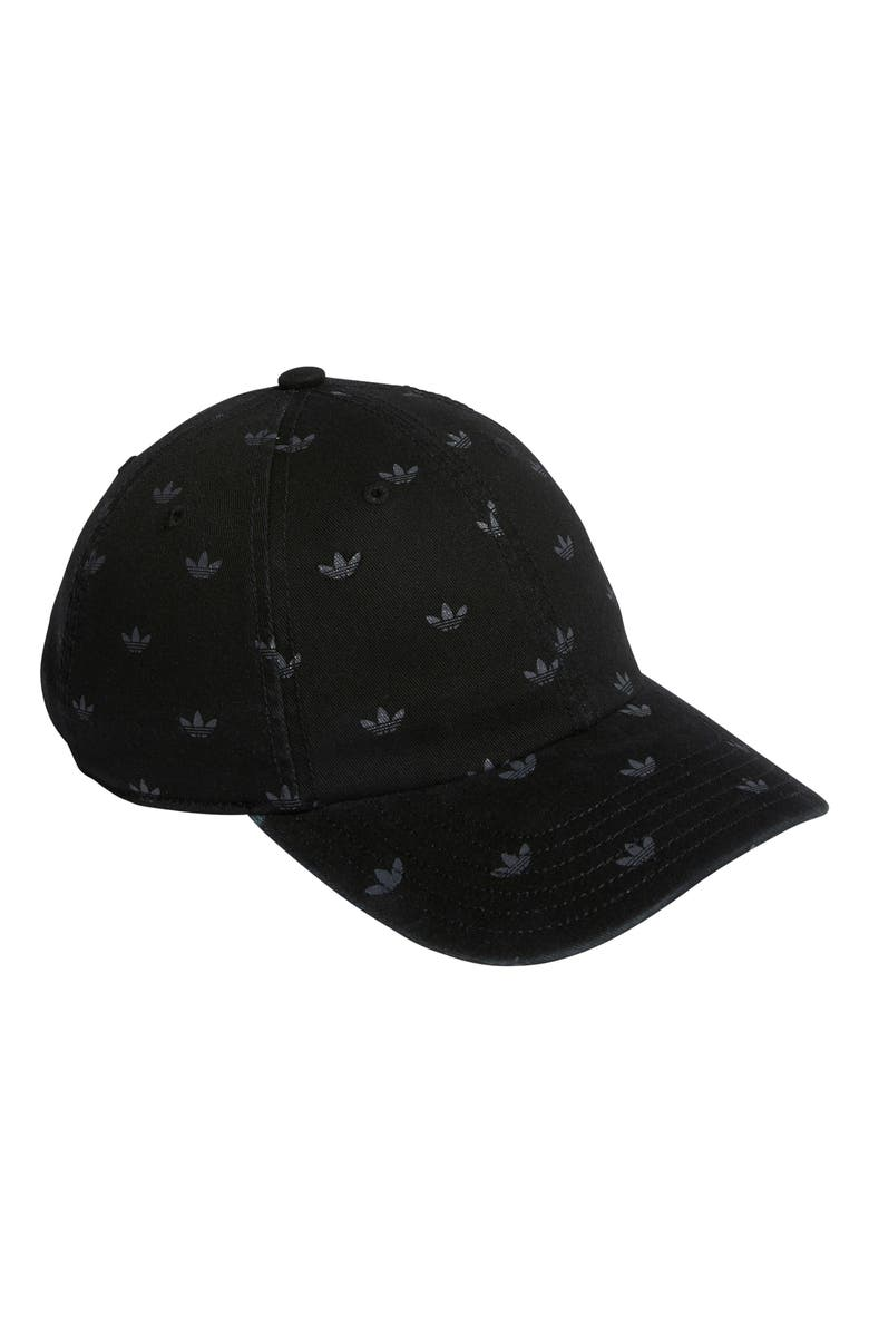 ADIDAS Originals Stacked Forum Baseball Hat, Main, color, BLACK