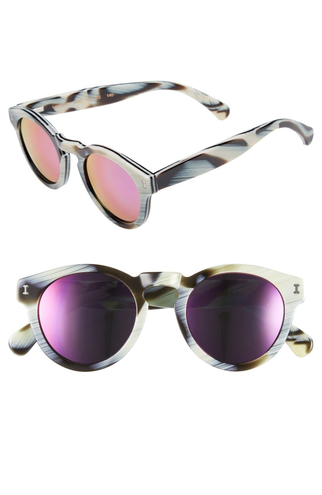 ,                             'Leonard' 47mm Sunglasses,                             Main thumbnail 140, color,                             963