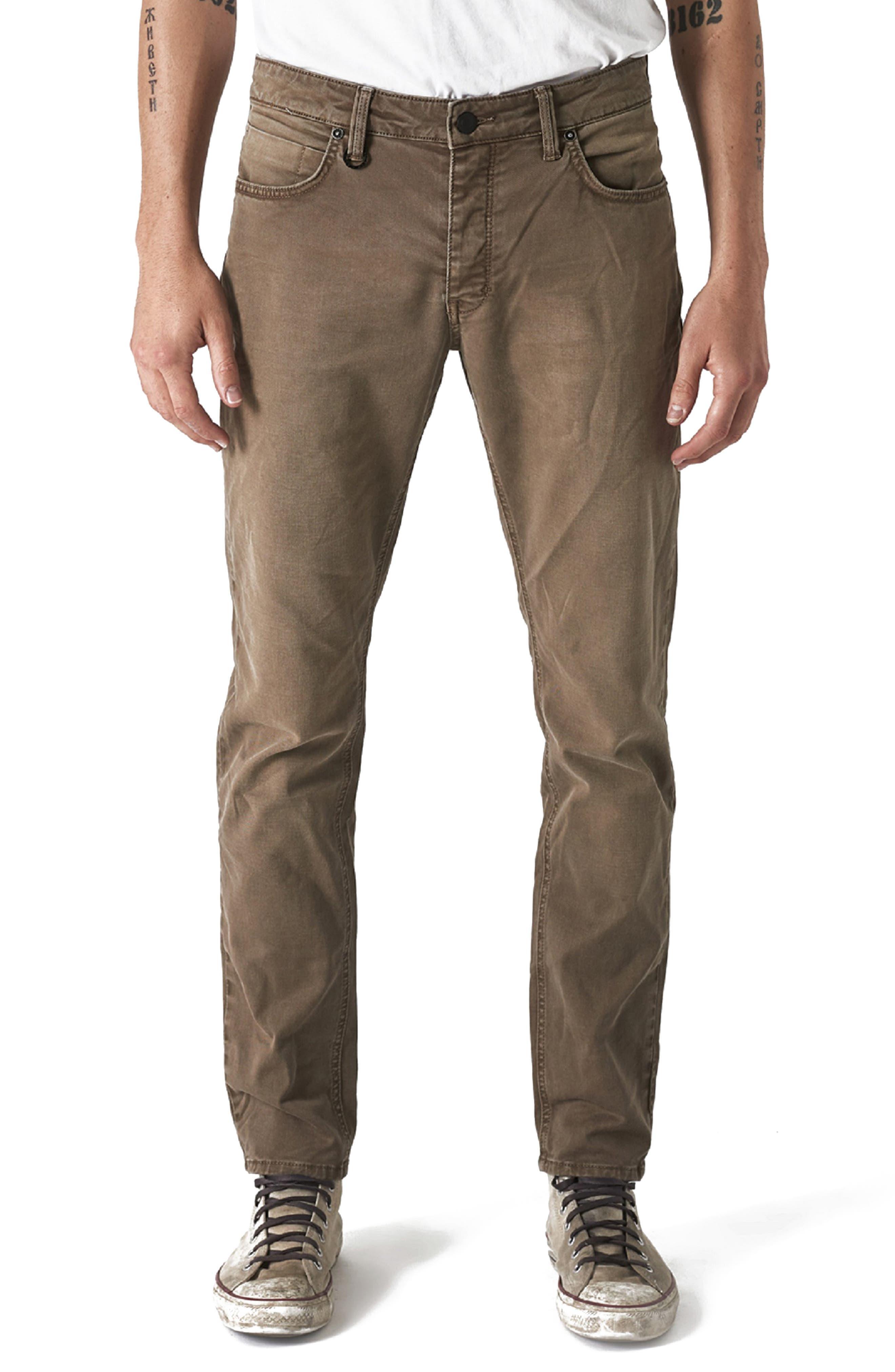 Men's Neuw Lou Slim Fit Twill Jeans,  33 - Beige
