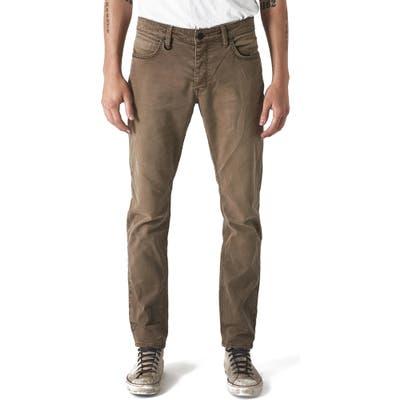 Neuw Lou Slim Fit Twill Jeans, Beige