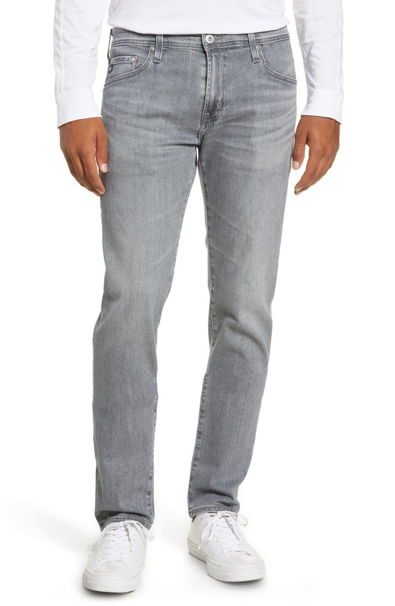 AG Dylan Skinny Fit Jeans, Main, color, COURIER