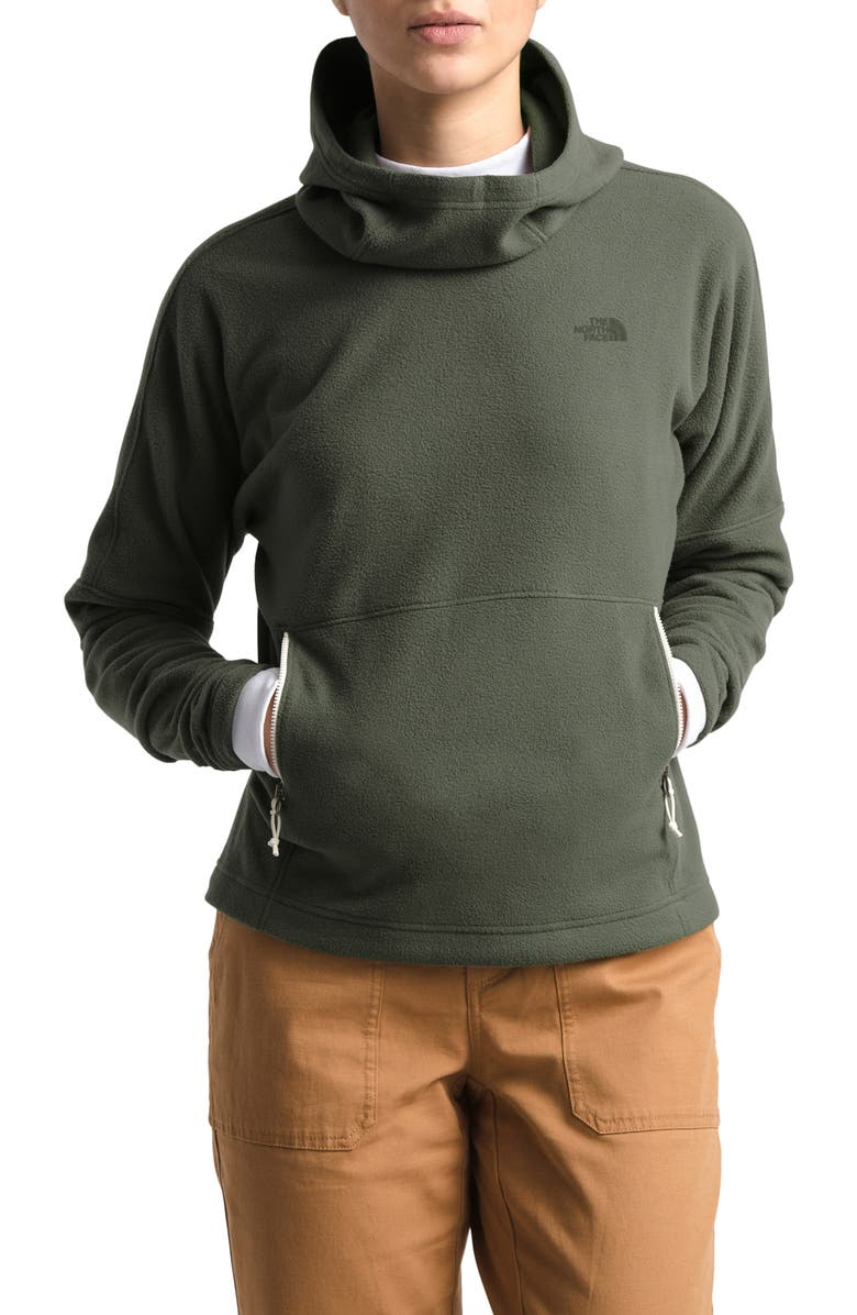 THE NORTH FACE Glacier Alpine 2.0 Hoodie, Main, color, NEW TAUPE GREEN