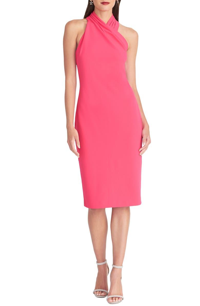RACHEL RACHEL ROY Harland Halter Dress, Main, color, PASSION PINK