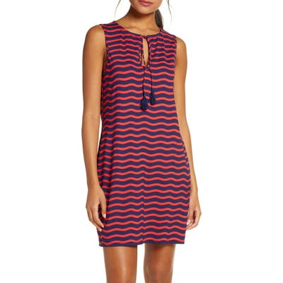 Tommy Bahama Sea Swell Stripe Cover-Up Dress, Red
