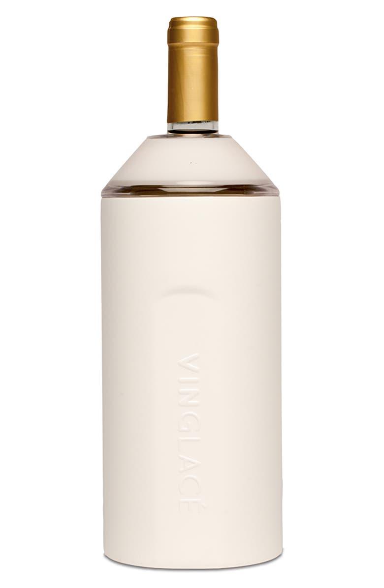 VINGLACÉ Wine Chiller, Main, color, WHITE