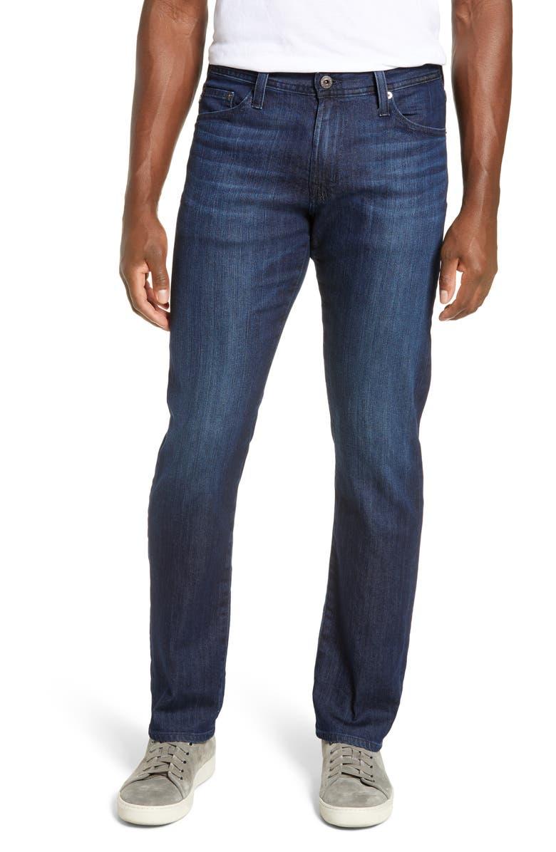 AG Graduate Slim Straight Leg Jeans, Main, color, 463