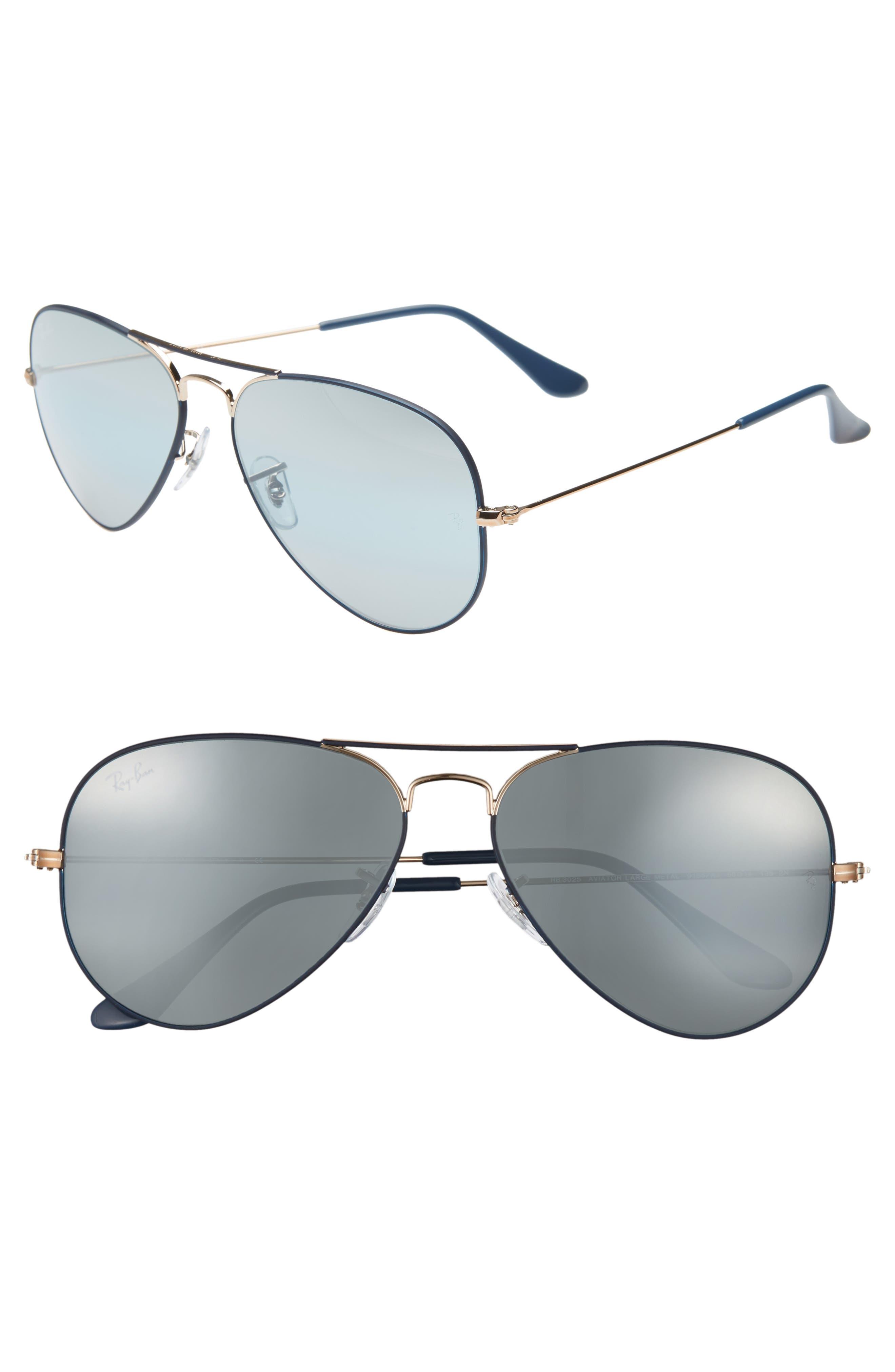 Ray-Ban Original Aviator 5m Sunglasses - Dark Blue