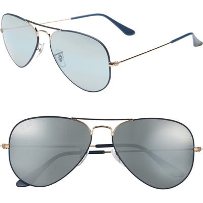 Ray-Ban Original Aviator 5m Sunglasses - Dark Blue