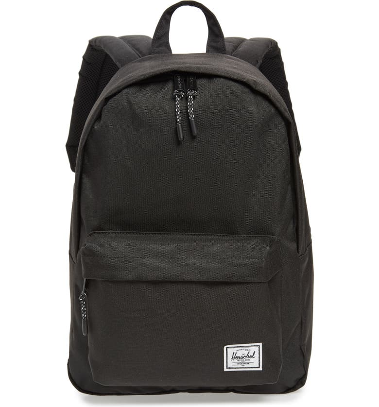 HERSCHEL SUPPLY CO. Classic Mid Volume Backpack, Main, color, BLACK
