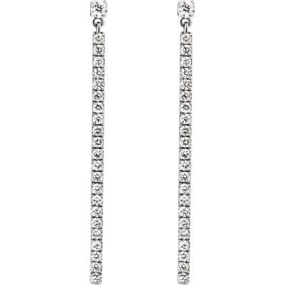 Messika Diamond Bar Linear Earrings