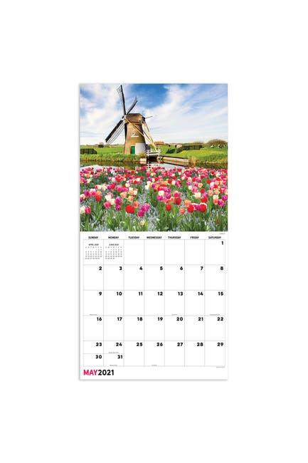 Image of TF Publishing 2021 Europe Wall Calendar