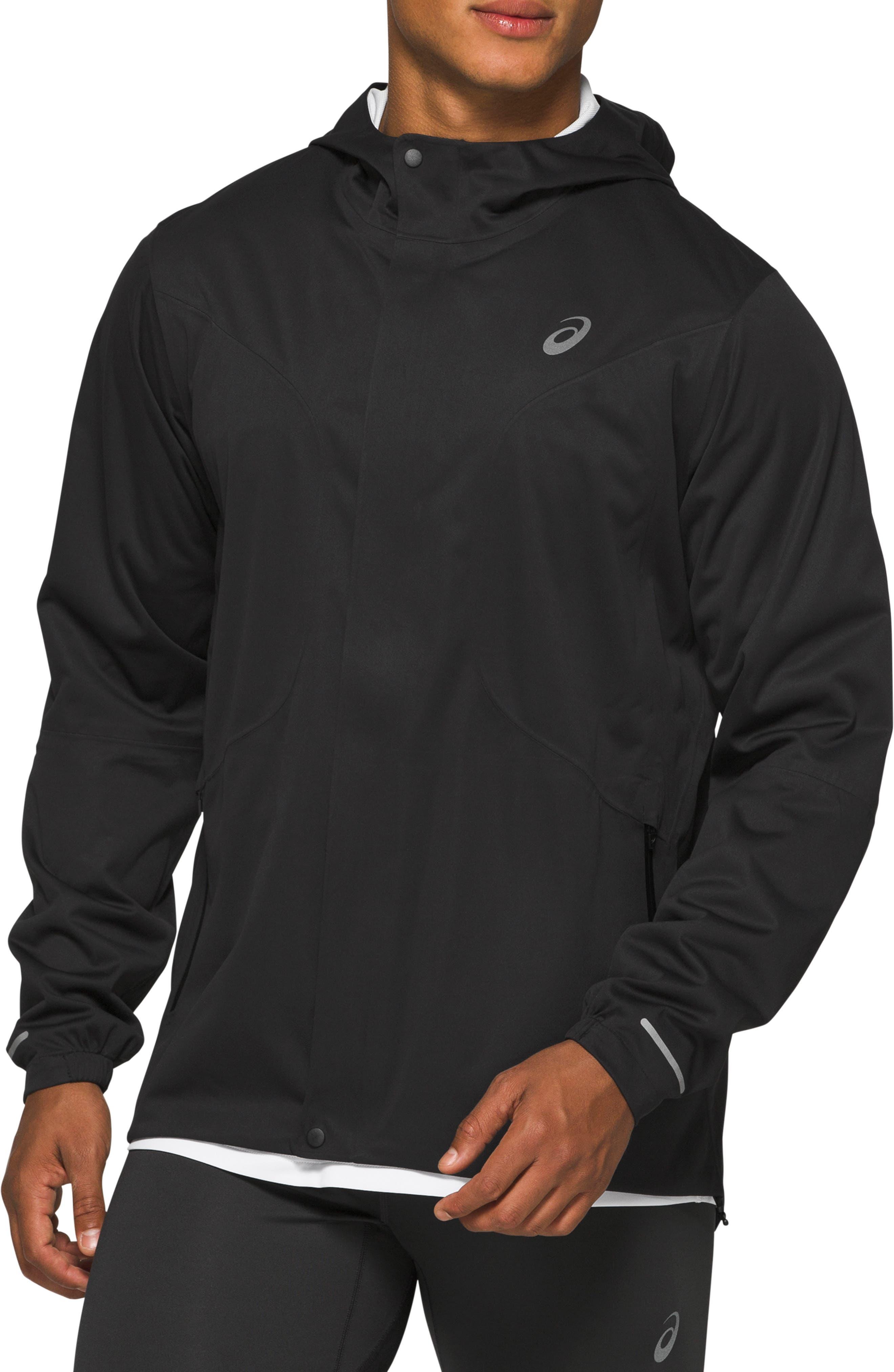 Men's Asics Accelerate Waterproof Hooded Jacket