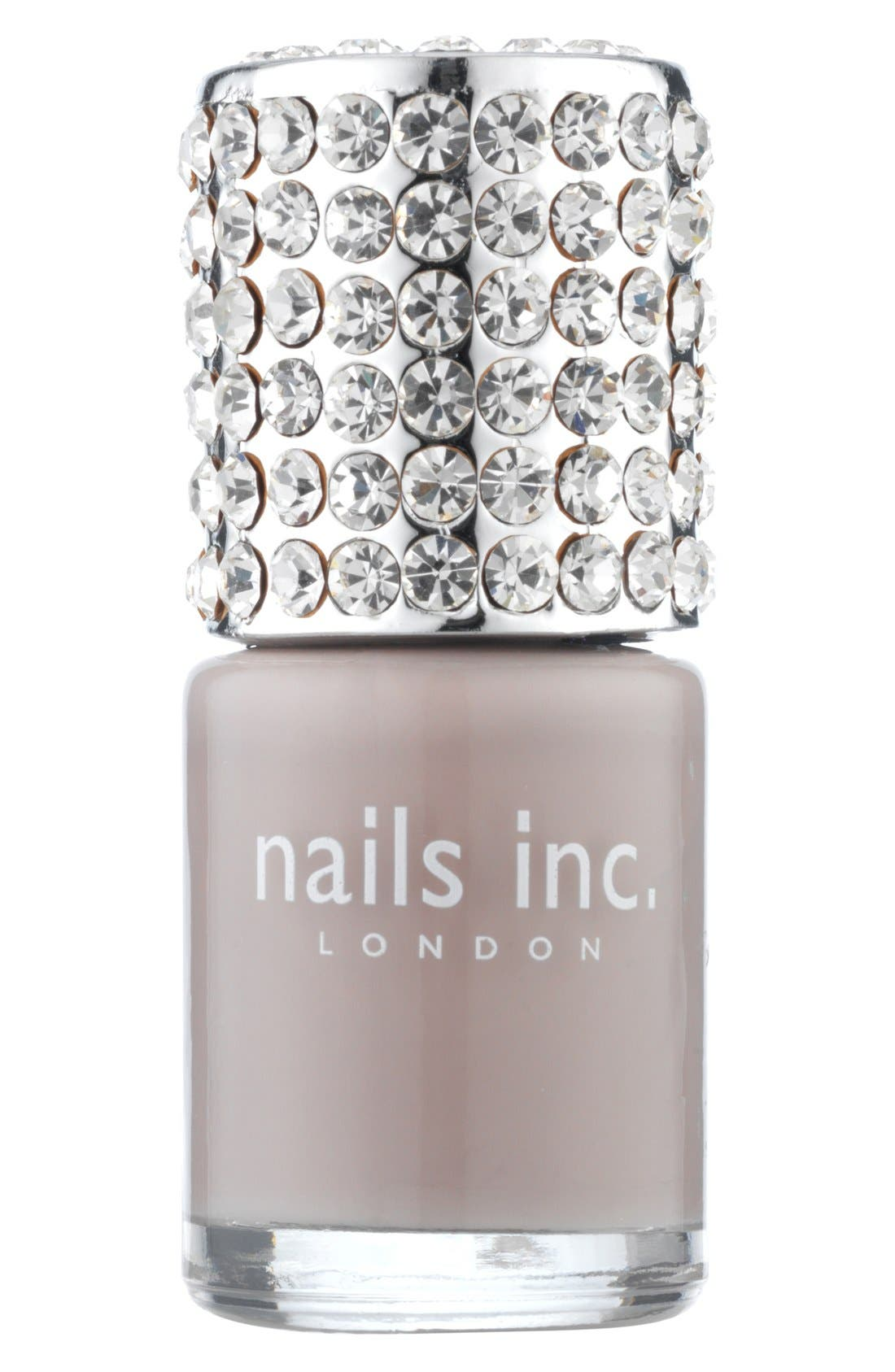'Crystal Cap' Nail Polish, Main, color, 020
