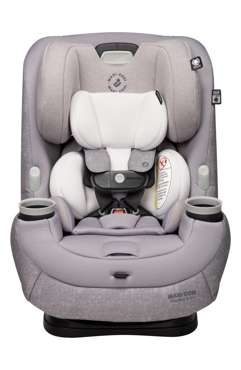 MAXI-COSI<SUP>®</SUP> Pria<sup>™</sup> Max 3-in-1 Convertible Car Seat, Main, color, NOMAD GREY