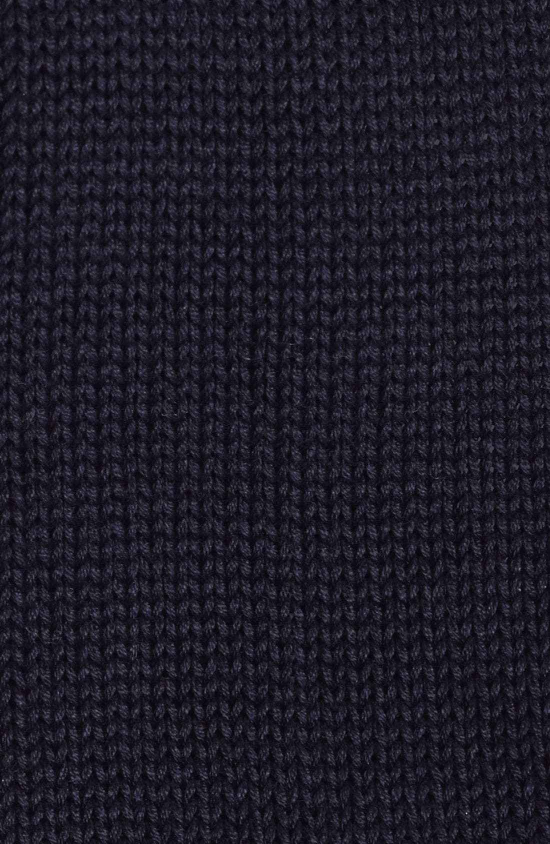 ,                             Black Knit Tie,                             Alternate thumbnail 9, color,                             402