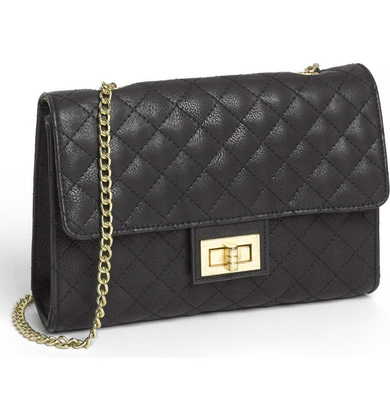 LULU Quilted Crossbody Bag, Main, color, 001