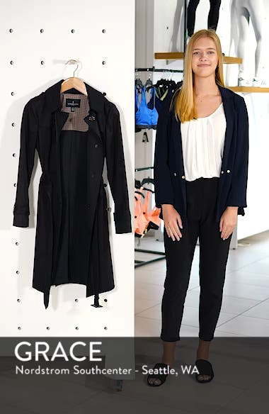 Knee Length Trench Coat, sales video thumbnail
