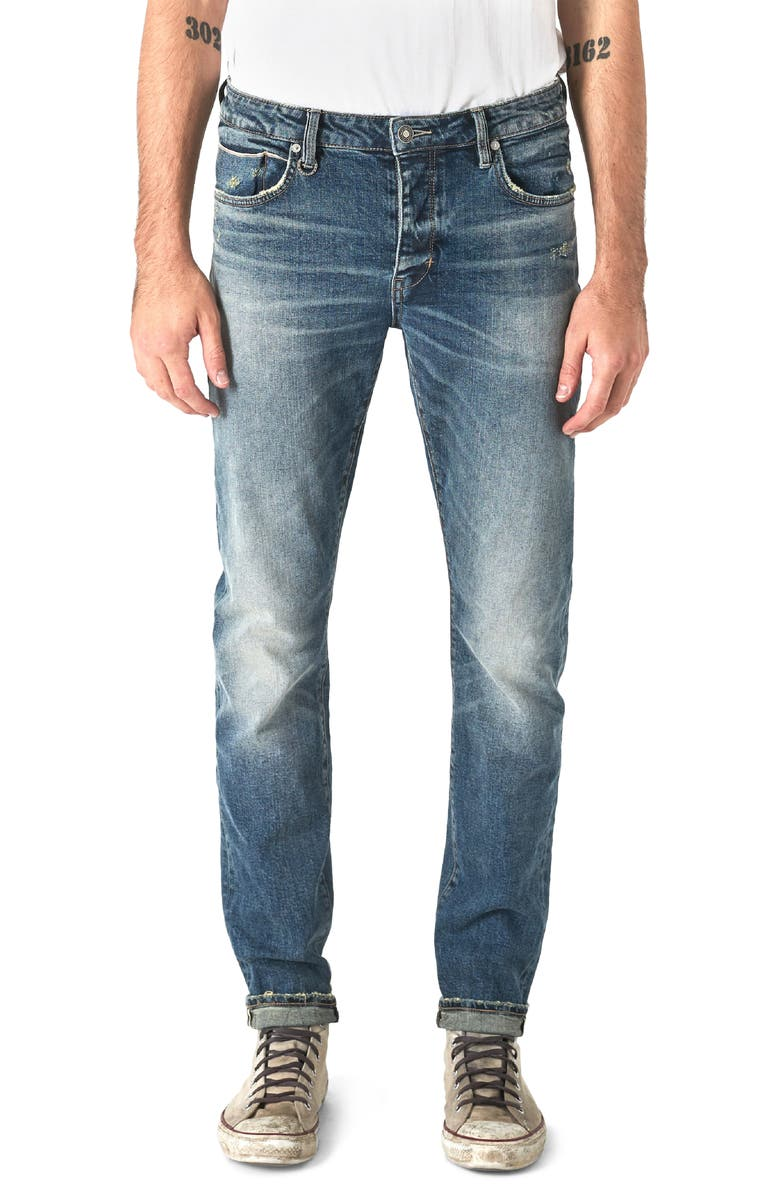 NEUW Iggy Skinny Fit Jeans, Main, color, RADICAL SELVEDGE