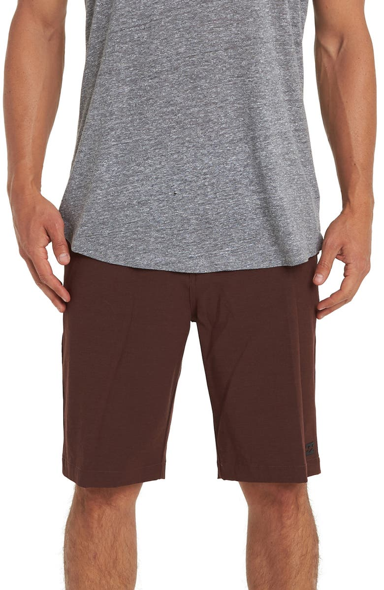 BILLABONG Crossfire X Hybrid Shorts, Main, color, SANGRIA
