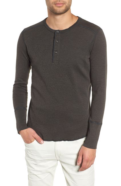 Image of WINGS AND HORNS Base Long Sleeve Henley