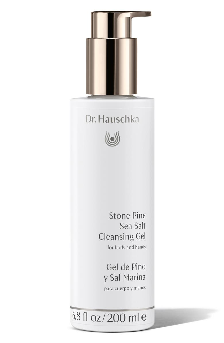 DR. HAUSCHKA Stone Pine Sea Salt Cleansing Gel, Main, color, NO COLOR