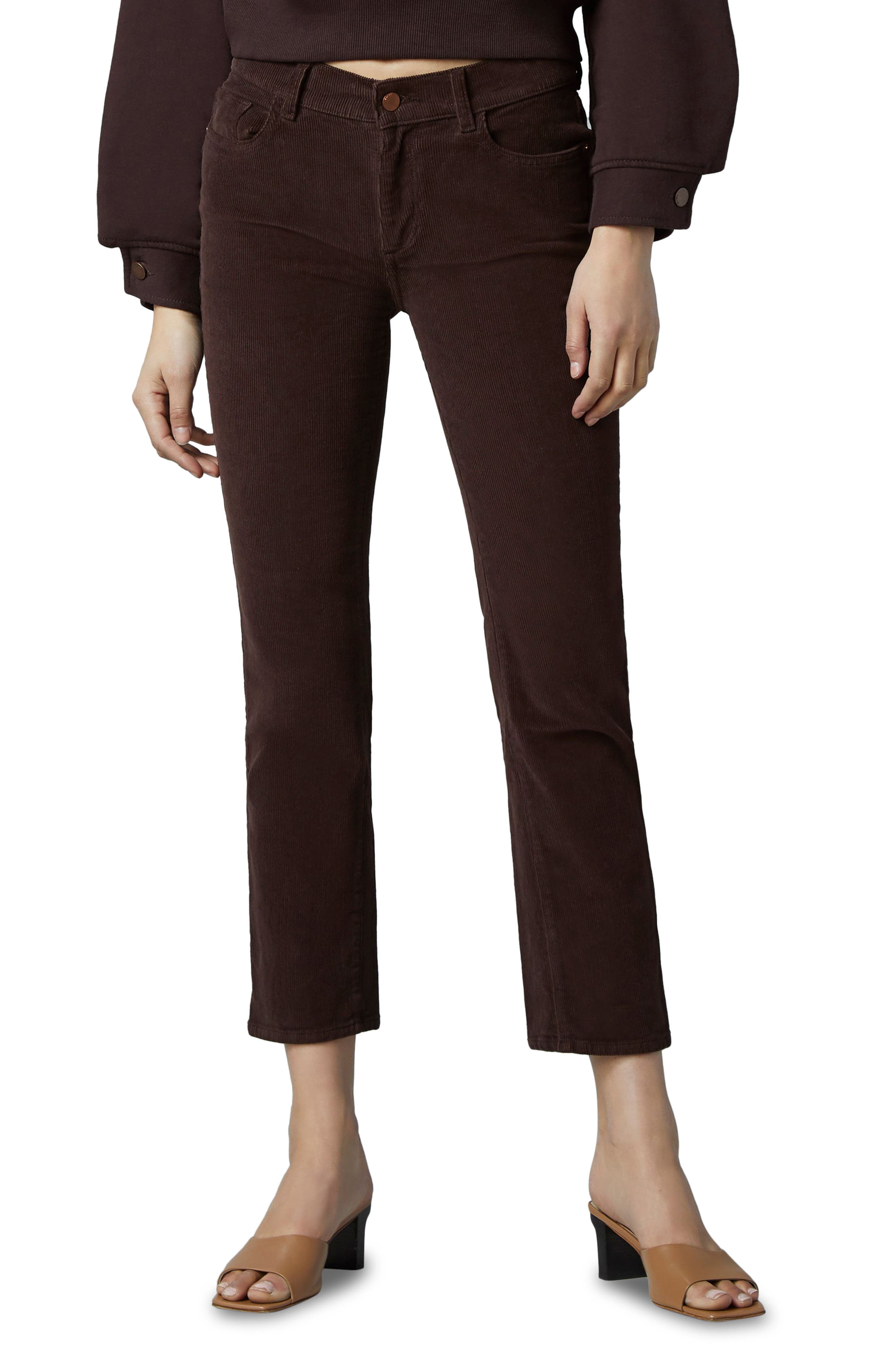 1961 Mara Instasculpt Mid Rise Ankle Slim Corduroy Jeans