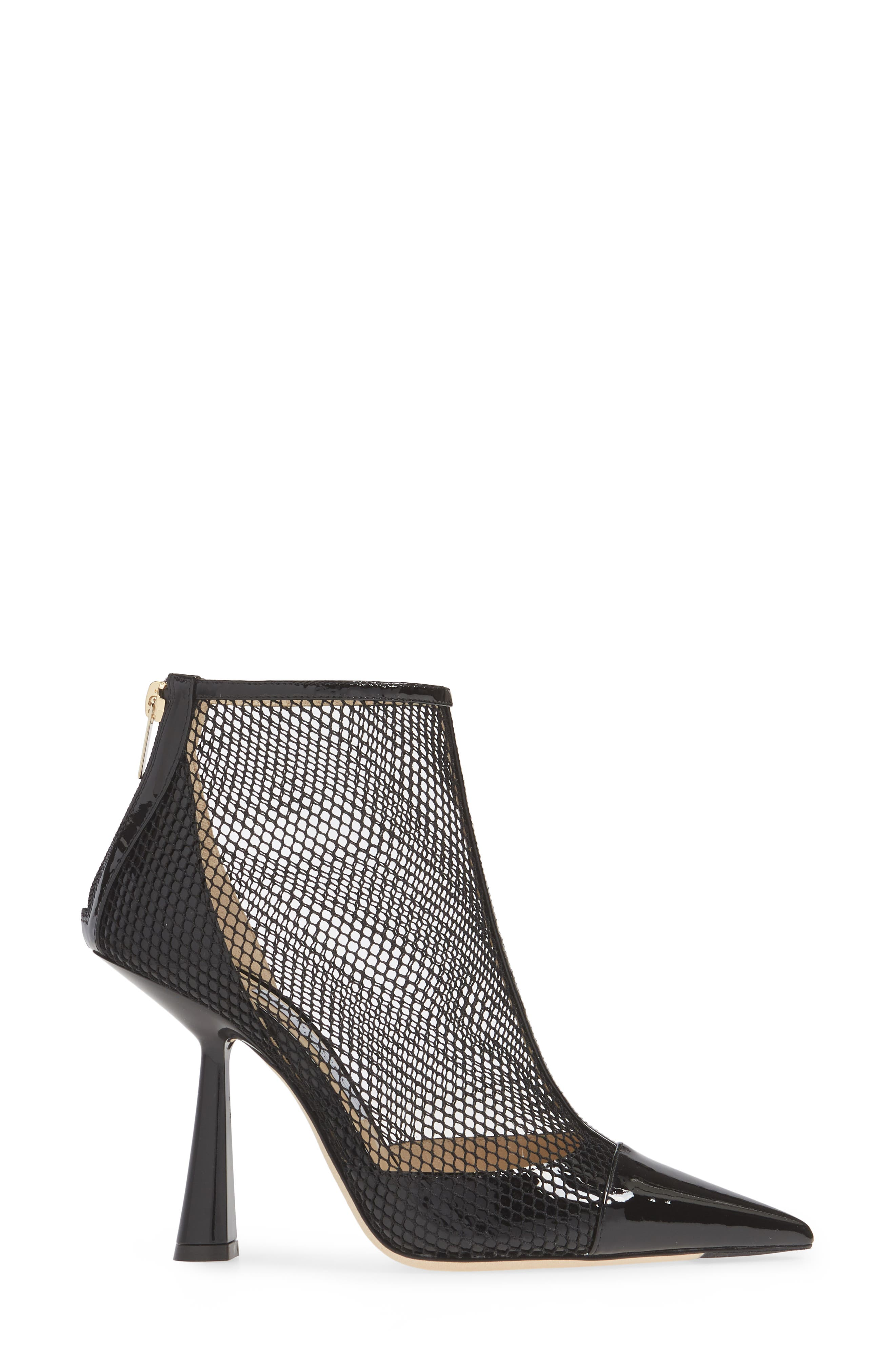 ,                             Kix Mesh Bootie,                             Alternate thumbnail 3, color,                             BLACK