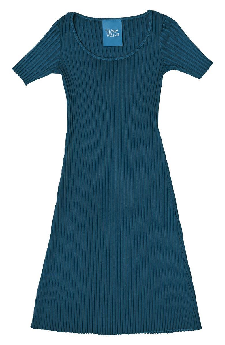 SIMON MILLER Andros Ribbed Body-Con Midi Dress, Main, color, 400