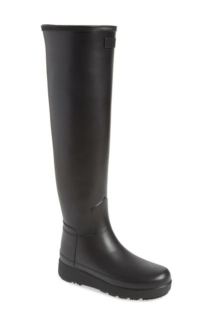 Image of Hunter Refined Creeper Over the Knee Rain Boot